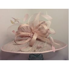 Hat 1678 Pink For Hire Wedding Available To Or From Hadleigh Hats
