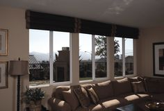Looking For Proper Window Treatments for Casement Windows on Your Home: Comely Living Room Architecture Window Shutters With Espresso Leather Sofa Sets Standing Lamp Brown Tube Window Treatmen For Casement Windows Ideas ~ workdon.com Doors Designs Inspiration