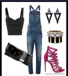 As mil e uma caras de uma jardineira jeans!Veja post completo em www.carolinedemolin.com.br. #moda #fashion #tendencias #trend #personalstylist #personalstylistbh #consultoriademoda #consultoriadeimagem #imagem #identidade #fashionblogger #looks #lookdodia #lookoftheday #estilo #style #diesel #polyvore #jimmychoo #schutz #dsquared #lool     www.carolinedemolin.com.br