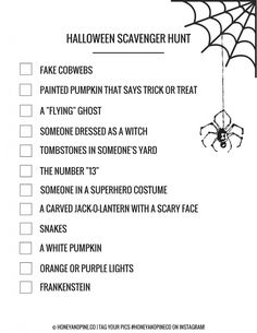 Easy Halloween Scave