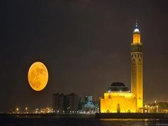 Supermoon The Natural Satellite Came Closer To Earth… | Pages @ bitbillions