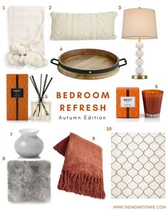 The Midwest Wife | Bedroom Refresh Autumn Edition | How to Cozy Up the Bedroom for Fall Screenshot or 'like' this pic to shop the product details from the LIKEtoKNOW.it app, available now from the App Store! http://liketk.it/2tbQa #liketkit @liketoknow.it