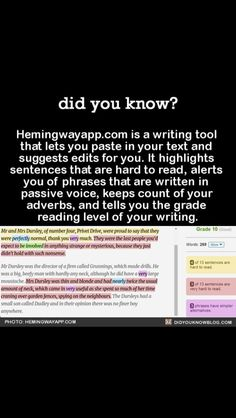 App that helps with your essays!