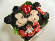 mickey mouse bento box - Buscar con Google