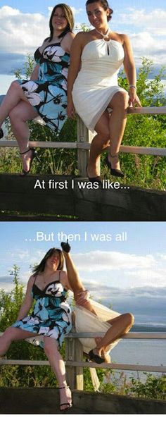 At first I was like...but then I was, over the fence.