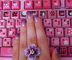 Kawaii keyboard. | Kawaii Minikui ~ かわいい 醜い | Pinterest