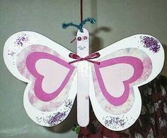 Butterfly Hearts Scrapbooking and Paper Crafts: Beautiful Friendship CTMH Austra.Butterfly Hearts Scrapbooking and Paper Crafts: Beautiful Friendship CTMH Austra. star from money fold ? Kids Crafts, Valentine Crafts For Kids, Homemade Valentines, Craft Activities For Kids, Preschool Crafts, Craft Projects, Arts And Crafts, Craft Ideas, Popsicle Stick Crafts
