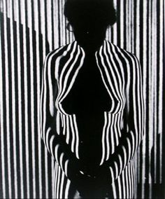 """""""Striped light nude"""" Photography by Martin H. Miller, (American, - Black and white photography Op Art, Black N White, White Art, Nude Photography, Black And White Photography, Light Photography, 3d Foto, Shadow Photos, Light And Shadow"""