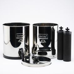 Big Berkey (2.25 gal) Stainless Steel Drip Filter System w/ 2 Black fi – *Purchasers of our Big Berkey Water Purification Systems will receive a FREE SAMPLE Bag with your order of our  Legacy Premium Emergency Food Storage (25Year Shelf Life) ~ Freeze-Dried Survival Food for Emergency Preparedness (Prepping) with a 10% OFF Lifetime Coupon Code good towards future purchases of Legacy Freeze-Dried Survival Food.