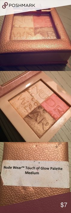 physicians formula nude wear touch of glow physicians formula nude wear touch of glow palette Makeup Foundation