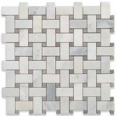 Twine Asian Statuary Honed Marble Tile