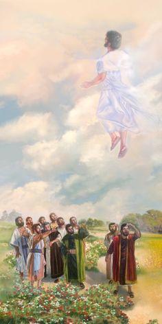 """""""Y los sacó fuera hasta Betania, y alzando sus manos los bendijo. Y aconteció que bendiciéndolos, se separó de ellos, y fue llevado al cielo. Ellos, despues de haberle adorado, volvieron a Jerusalén con gran gozo; y estaban siempre en el templo, alabando y bendiciendo a Dios. Amén""""...Lucas 24:50-53 ღ✟"""
