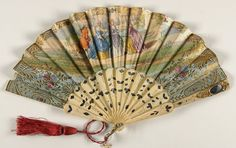 Child's fan, mid-19th cent. | In the Swan's Shadow