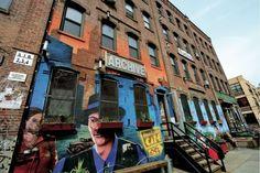 Café à la mode dans Williamsburgh, un quartier de Brooklyn #NY ©Salaün Holidays