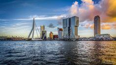 Stukje skyline. Rotterdam heeft het.