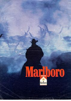 """True confession: I smoked Marlboro """"reds"""" throughout my college years. I tried & true country girl, I quit smoking on the day I got married in 1973 which is now 42 years ago. Retro Advertising, Vintage Advertisements, Vintage Ads, Vintage Posters, Advertising History, Malboro, Marlboro Man, Marlboro Cowboy, Bicicletas Raleigh"""