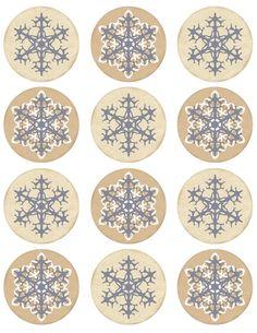 Винтажные картинки и идеи для создания подвесок, тэгов и рождественских гирлянд (45) (495x640, 271Kb)