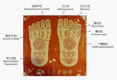 buddha footprint - Pesquisa Google