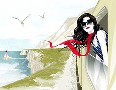 Rendez-vous en France, illustration by ROS - ego-alterego.com