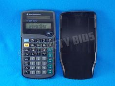TI-Texas-Instruments-TI-36X-Solar-Powered-Scientific-Calculator-w-Cover-Tested