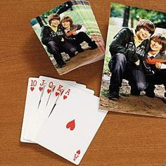 Photo Playing Cards $24.95
