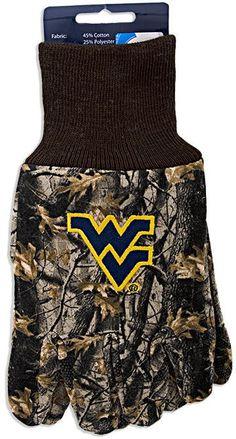 GVWU3 Gloves - West Virginia University CAMO