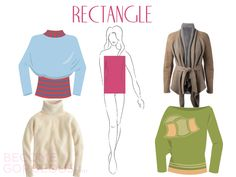 Rectangle Body | Sweaters For Rectangle Body