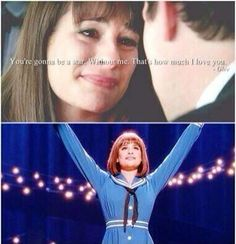 don't mind me just sobbing. Rachel And Finn, Lea And Cory, Rachel Berry, Cory Monteith, Fact Quotes, Glee Quotes, Just A City Boy, Finn Hudson, Glee Club
