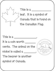 My Book About Canada - FREE Symbols of. Canada For Kids, All About Canada, Canada Day, School Age Activities, Kindergarten Activities, Learning Activities, Preschool, Holiday Activities, Canadian Social Studies