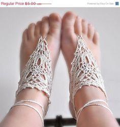 Met mooie bruine voetjes in de zomer...