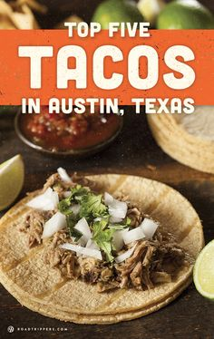 Go on this taco crawl through the tastiest tacos in Austin, TX.