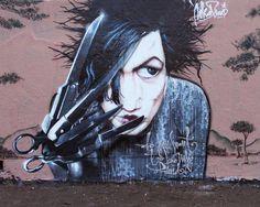 fd91e123f7c61  Burton Edward Scissorhands (Art. Sokar uno) Street Art Love