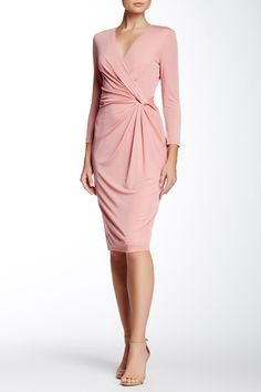 Faux Wrap Dress by Anne Klein on @nordstrom_rack