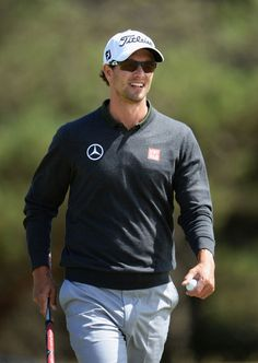 Adam Scott Open Championship Vintage Golf, Vintage Men, Adam Scott Golfer, Mens Golf Outfit, Golf Practice, Golf Player, Handsome Actors, Play Golf, Nike Golf