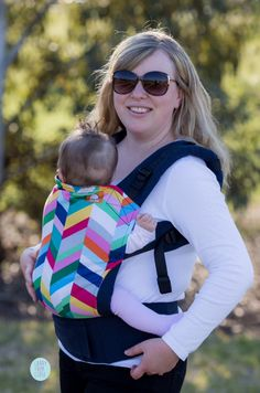 Canvas - Carry Them Close exclusive 'Flourish' TULA BABY CARRIER