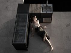 Outdoorküche aus Eisen GARDEN | Outdoorküche Kollektion Garden by Röshults | Design BRDA - BROBERG
