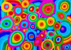 Pintura d'alumna de 4t. Retolador sobre paper. Painting, Color, Art, Art Background, Painting Art, Paintings, Kunst, Colour, Drawings
