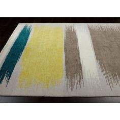 Ethan Allen Brushstrokes Rug ($1,415) ❤ Liked On Polyvore Featuring Home,  Rugs,