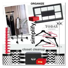 """Simplify - Closet Cleanup"" by pmcdl ❤ liked on Polyvore featuring interior, interiors, interior design, home, home decor, interior decorating, Kartell, Dot & Bo, Home Decorators Collection and Menu"