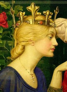 Joseph Edward Southall (1861-1944):  'Changing The Letter'