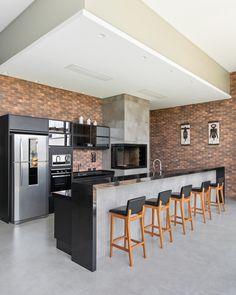 Kitchen Room Design, Outdoor Kitchen Design, Modern Kitchen Design, Home Decor Kitchen, Kitchen Furniture, Kitchen Interior, Home Design Decor, Küchen Design, Open Plan Kitchen