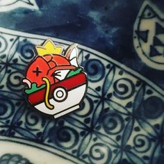 #Repost @punnypinsproject PokeBowl pins are now live and stocked while supplies…