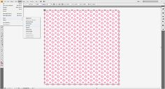 Easy Repeating Pattern Tutorial for Adobe Illustrator by Misstina.com.
