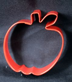 Apple Shaped Cookie Cutter Red