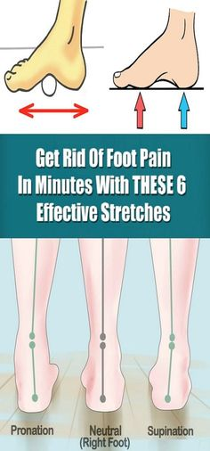 Get Rid Of Foot Pain In Minutes With These 6 Effective Stretches! – Toned