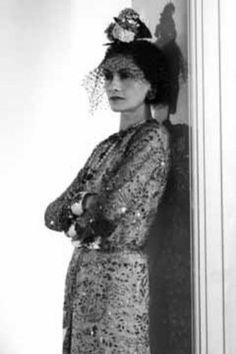 Coco Chanel. Dramatic.