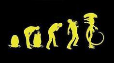Evolução alien.