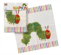 ■ Hungry Caterpillar Napkins | 20ct - $5.00