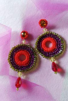 my creative earrings