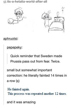 Sweden IS scary, but seriously Prussia ?!